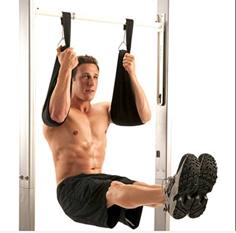 Ab Slings Abdominal Crunch Abs Door Hanging Chinning Bar Straps Weight Lifting