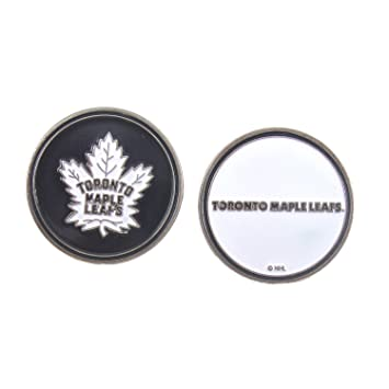 9f608703d8d Team Golf Toronto Maple Leafs Double Sided Ball Marker  Amazon.ca  Sports    Outdoors