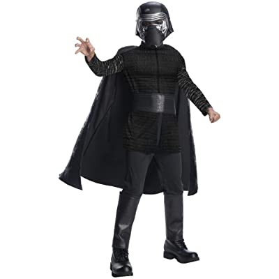 Star Wars The Last Jedi Kylo Ren Costume Small 4-6 Black: Clothing