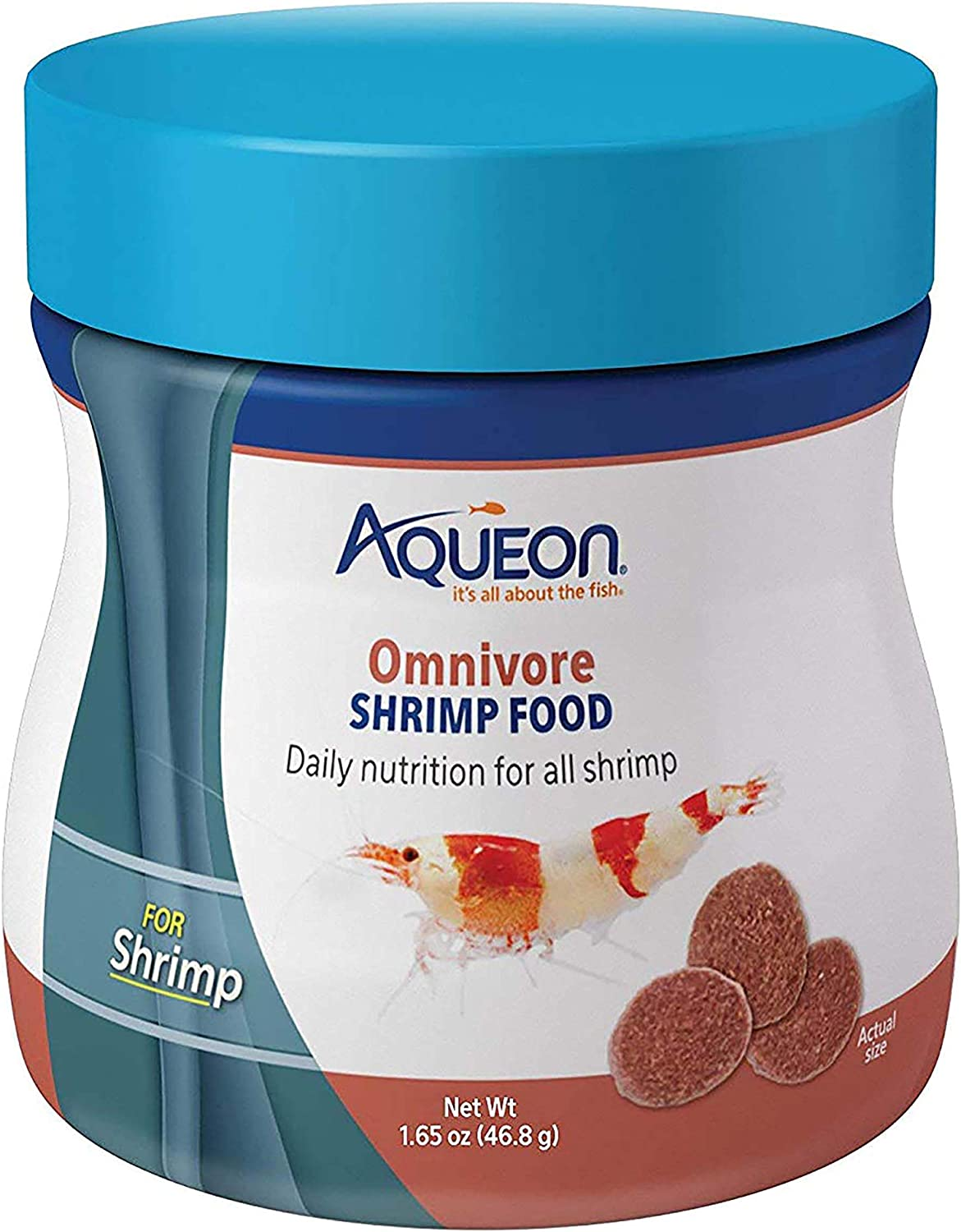 Aqueon Omnivore Shrimp Disc Food 1.65 Ounces
