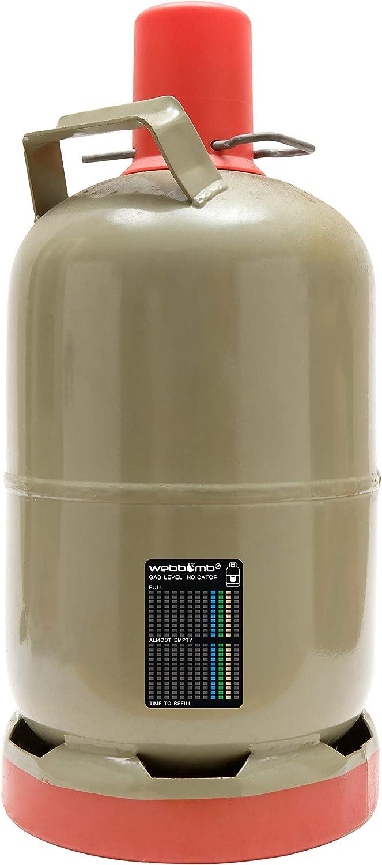 webbomb/® Indicador del Estado de Gas Gas Barbacoa Botella Gas indicador de mordida Niveles indicador Camping