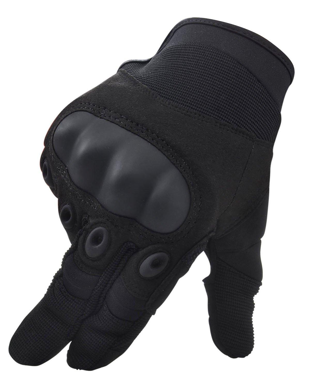 シンプルさメンズレディースサイクリングバイク手袋オートバイレーシングMittens B00ZVYXE9E L|Show Finger 1 Show Finger 1 L
