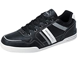 ARRIGO BELLO Mens Casual Shoes Fashion Sneakers PU-Leather Walking Shoes Low Top Shoes