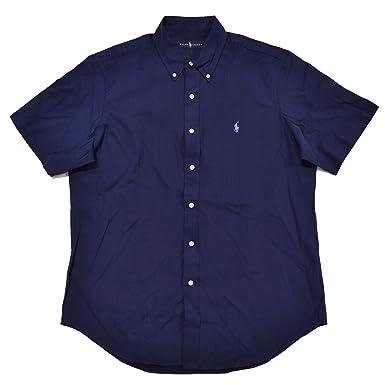 23df33ee109 Polo Ralph Lauren Mens Classic Woven Short Sleeve Button Down Shirt ...