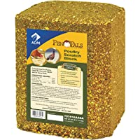 ADM ANIMAL NUTRITION 70741AAA6A Poultry Scra Block, 25 lb.