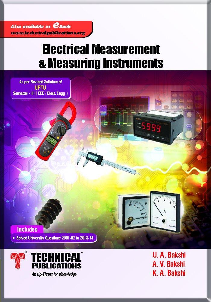 And pdf bakshi electrical measurement by instrumentation