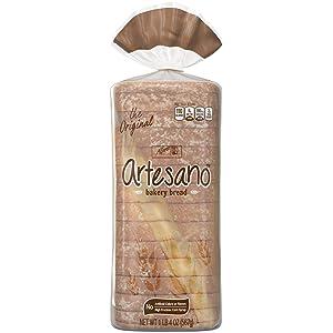 Alfaro's Original Artesano Bakery Bread, Thick Slices & Soft Texture, 15 slices, 20 oz