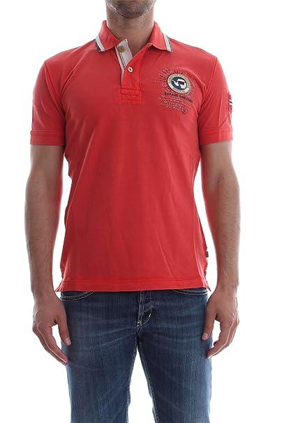 Napapijri Gandy 1 N0YHDW Polo Hombre Red S: Amazon.es: Ropa y ...