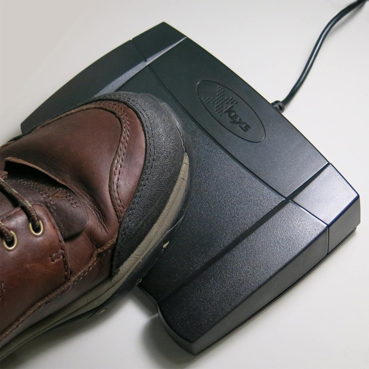 X-keys USB Foot Pedal for Playback Control