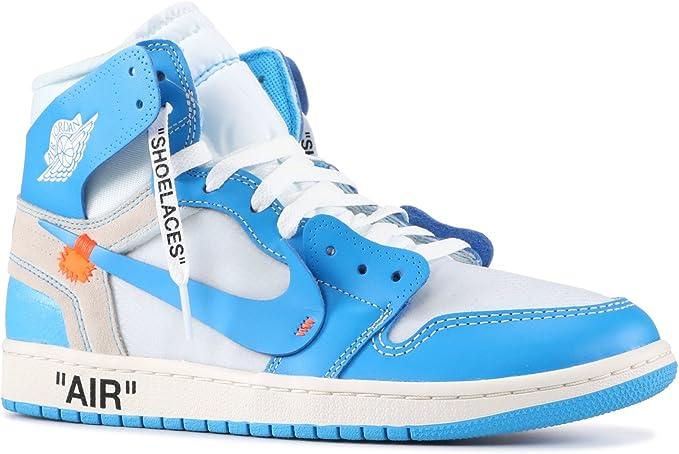 Jordan 1 Retro High UNC 'Off White' AQ0818 148 Size 37.5