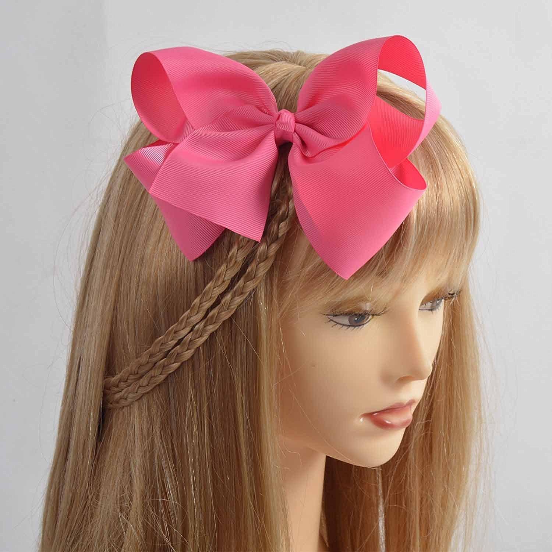 71trXHhQtEL._SL1500_ amazon com lclhb trendy big hair bows with oversized ribbon