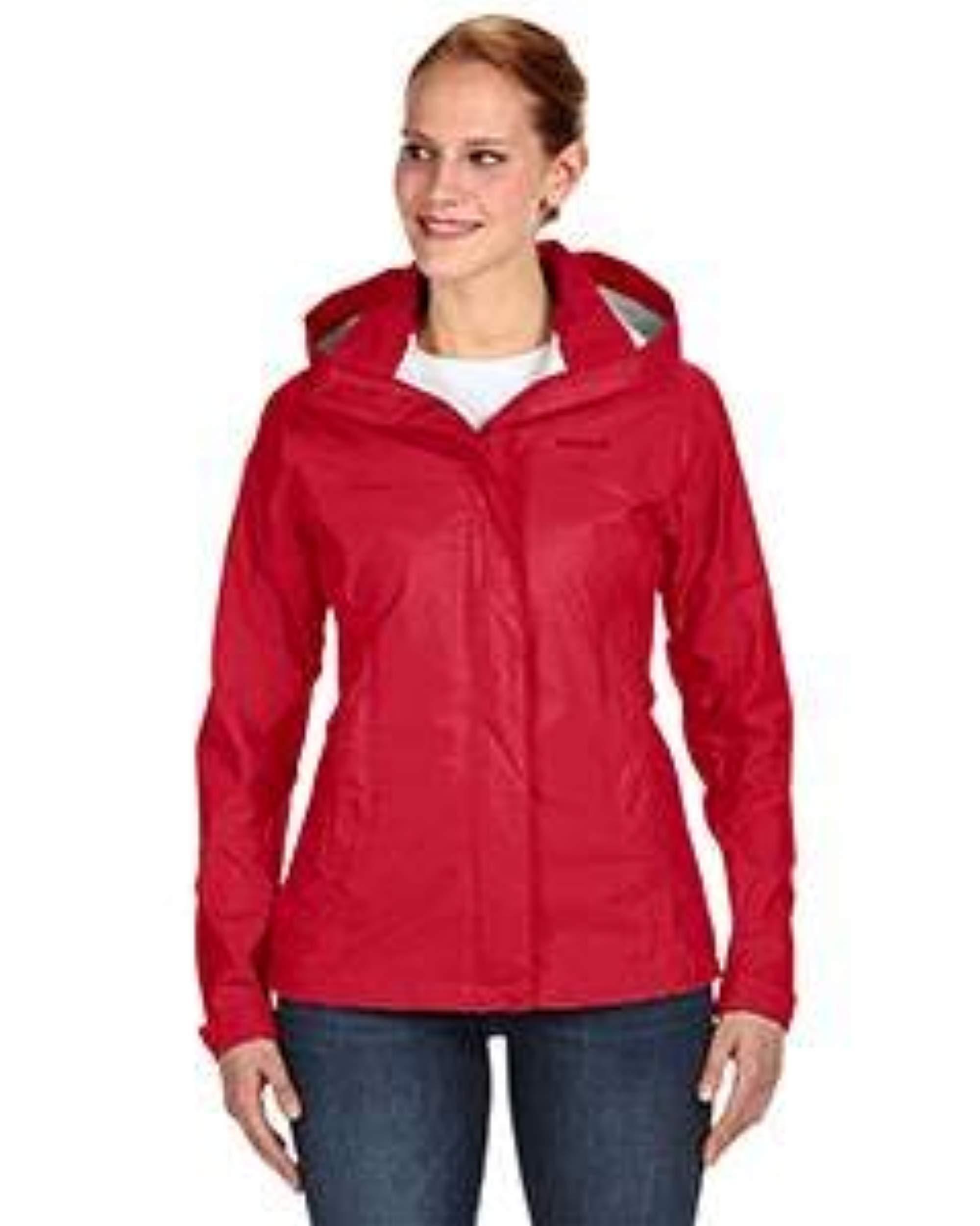 Marmot Women's Precip Jacket, Team Red, Medium by Marmot