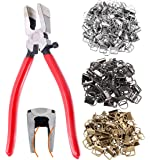 """39 Sets 1"""" 25mm 3 Colors Key Fob Hardware with 1Pcs Key Fob Pliers, Glass Running Pliers Tools with Jaws, Studio Running…"""