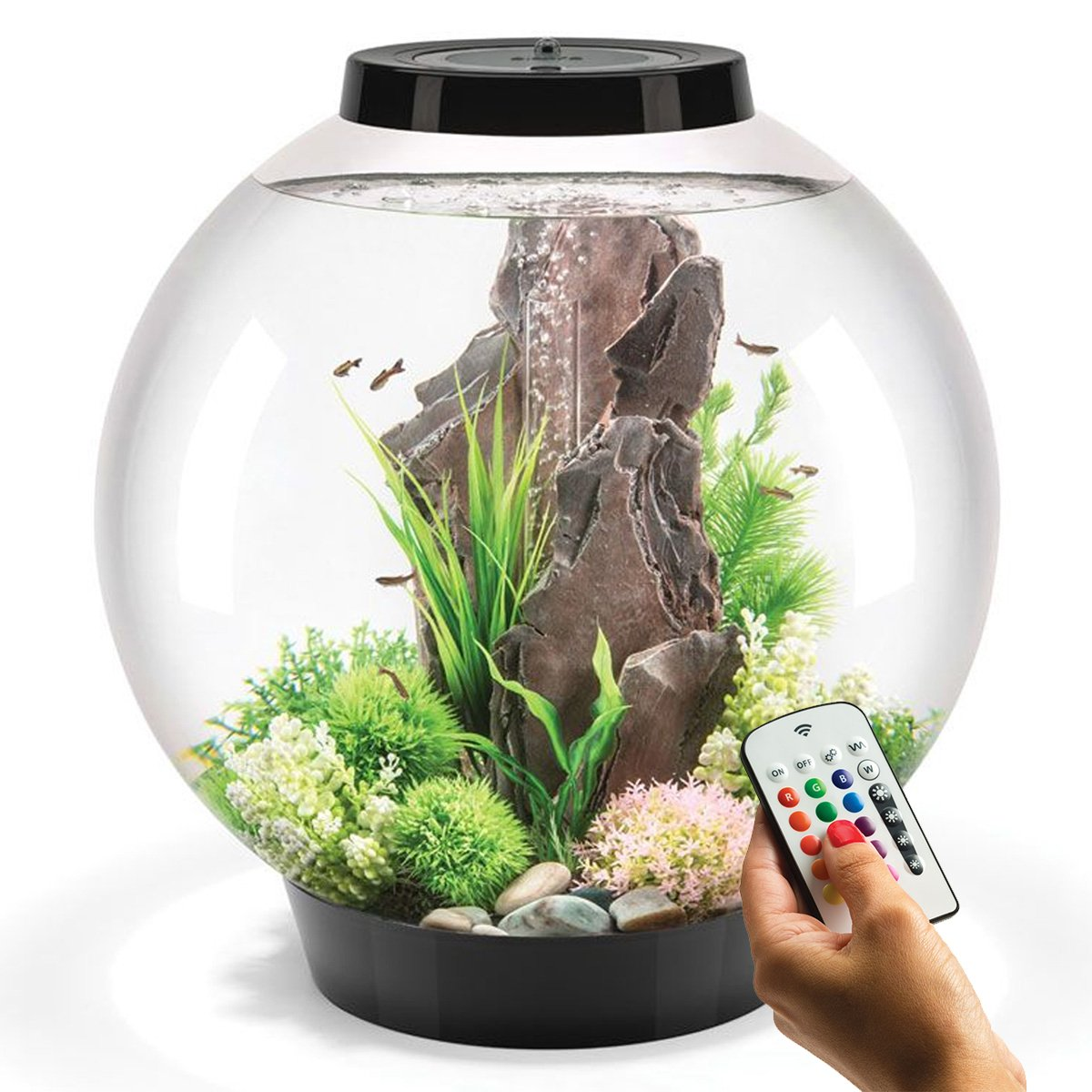 BiOrb Classic 60L Aquarium in Black with MCR LED Lighting