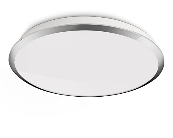 Plafoniera Led Philips : Philips myliving denim led ceiling light w chrome