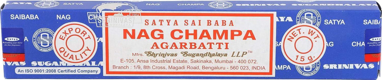 Nag Champa Original Incense Sticks (Whole Case)
