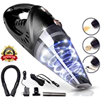 MEG Handheld Vacuum Cleaner Cordless, Rechargeable,106W Lithium Battery, Small&Lightweight, Vacuum Cleaner, Strong Aluminum Fan, Powerful Portable Vacuum & 2 Adapter Charging Cables