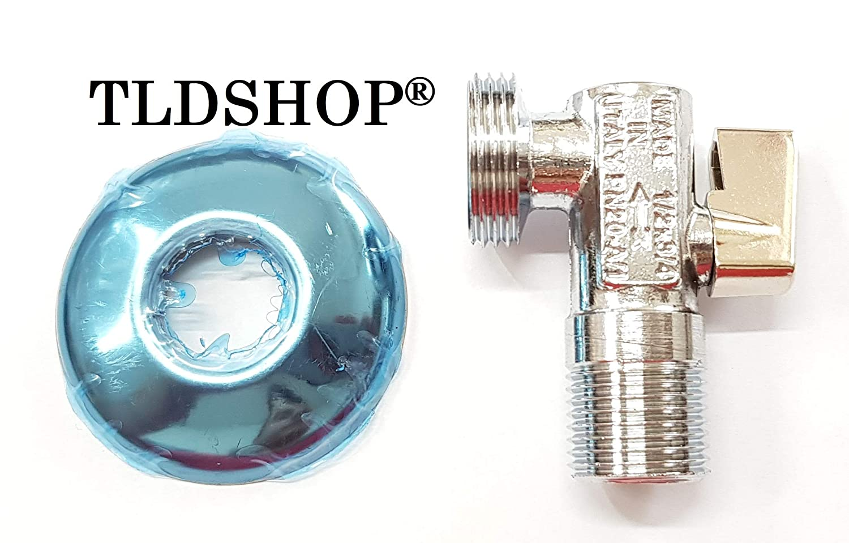 TLDSHOP® Grifo de bola lavadora - Carga agua - Grifo bajo lavabo ...
