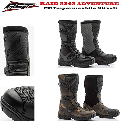 Stivali per Avventura RST 2342 Raid Adulti Stivali Moto