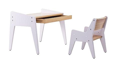 Tavoli Da Gioco Per Bambini : Bamby tavolo e sedie in legno massiccio faggio in legno due altezze