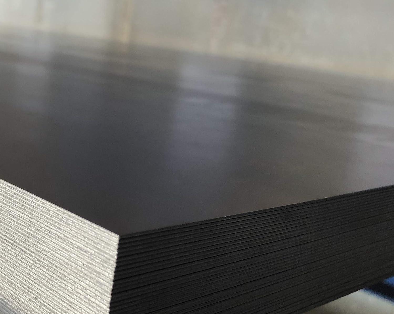 Placa met/álica Alu-Stahl-Blech Stahlog 1mm x 500/mm x 1000/mm