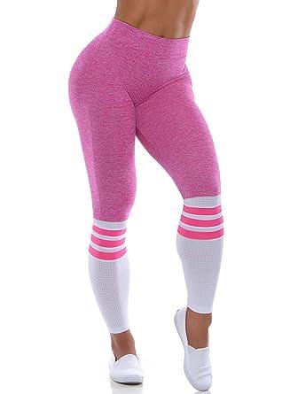 3b90ac658f012 Amazon.com: Bombshell Sportswear Sock Leggings - Pink: Clothing