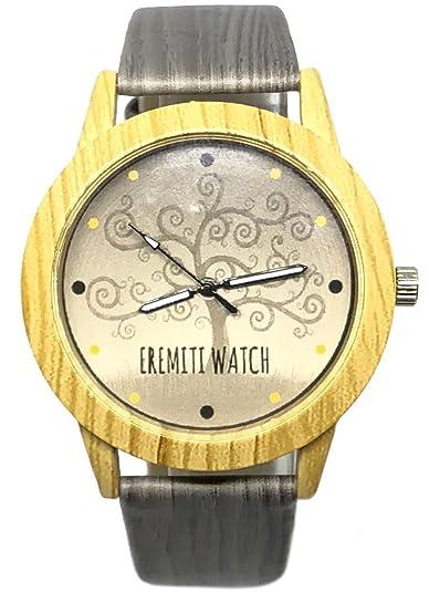 eremiti Jewels Reloj camiseta de milán O Piel auténtica personalizado con imagen A elegir Color Oro