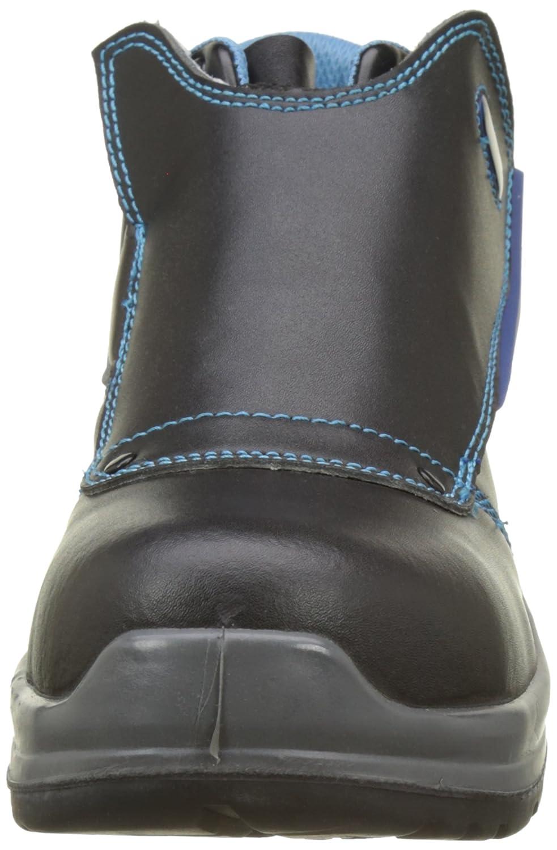 Paredes COLTAN NEGRO PAREDES SP5021-NE/36 - Bota seguridad negra y azul para soldador, puntera + plantilla Compact No metálica. Modelo COLTAN NEGRO.