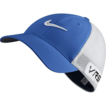 a4c48650dec Buy Nike Golf Tour Flex-FIT Cap New Logo Game Royal White White S M Online  at Low Prices in India - Amazon.in