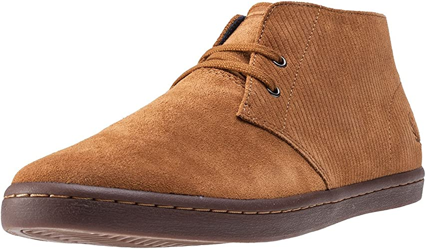 Fred Perry Byron Mid Mens Chukka Boots