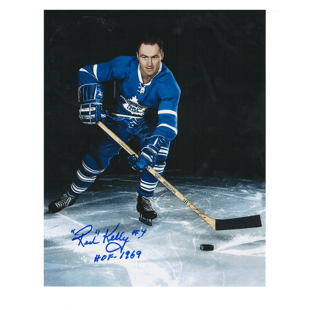Red Kelly Toronto Maple Leafs 8 x 10 Autographed Photo at Amazon s Sports  Collectibles Store 763f13efb
