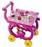 Smoby 024271 - Disney Princess - desserte XL - PlatEau Amovible avec Chariot - + 16 Accessoires Inclus