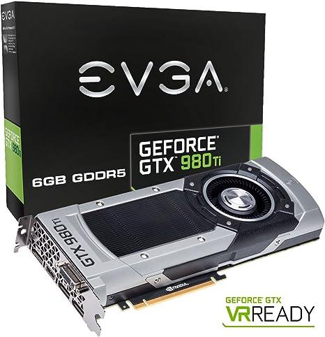 EVGA GeForce GTX 980 Ti 6GB GAMING, Silent Cooling Graphics Card 06G-P4-4990-KR