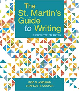 St Martins Guide To Writing 10th Edition Pdf