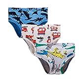 Boys Boxer Briefs Cotton Dinosaur Shark Baby