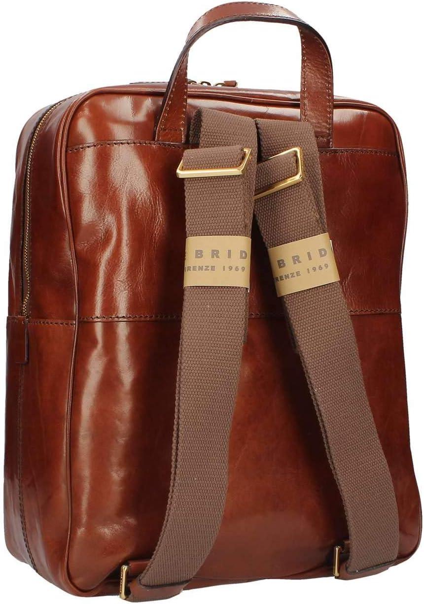 The Bridge BackPack Passpartout Man leather brown Marrone