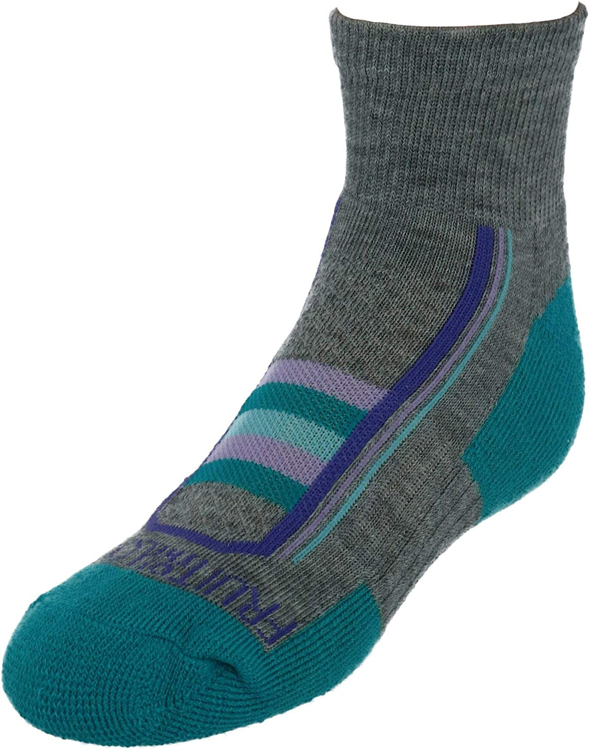 Fruit Of The Loom Girls Active Cushioned Ankle Socks 6 Pair