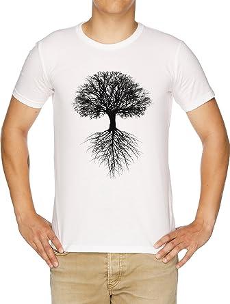 6f76ca8d200df Vendax Arbre de La Vie T-Shirt Homme Blanc: Amazon.fr: Vêtements et ...