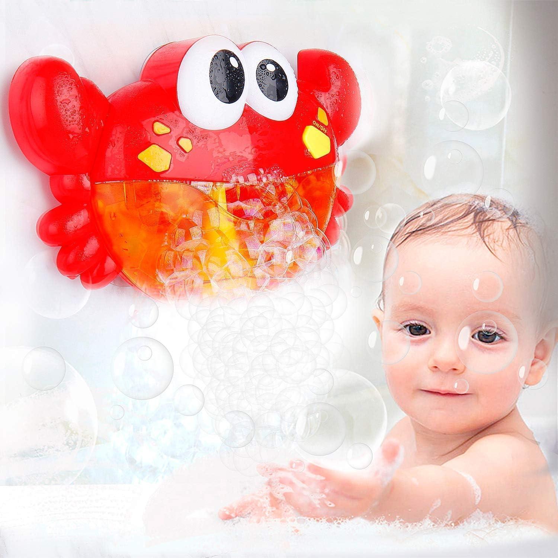 MOOKLIN ROAM Kinder Blase Badespielzeug Geschenk Krabbe Badewannenspielzeug Wasserspielzeug Baby Spielzeug f/ür Badewanne Baby Jungen oder M/ädchen Kleinkindspielzeug
