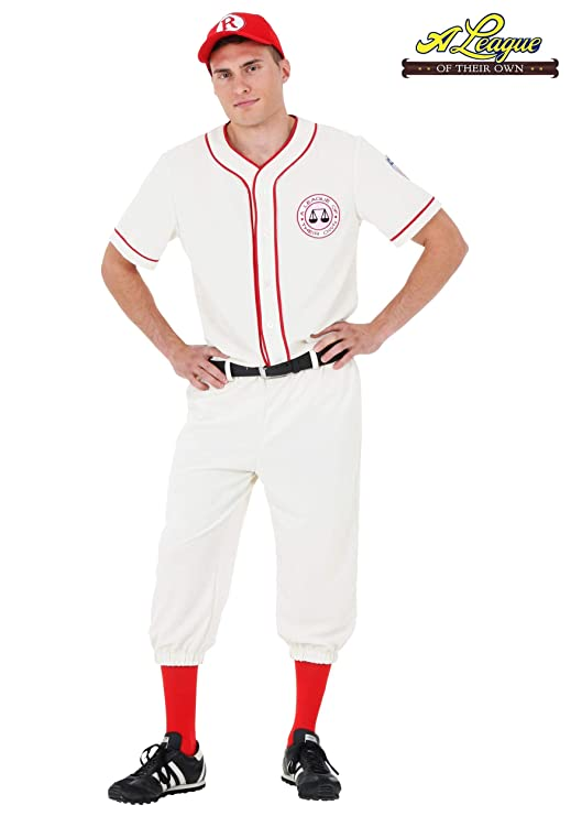 98f3d685 Amazon.com: League of Their Own Coach Jimmy Baseball Uniform Costume:  Clothing