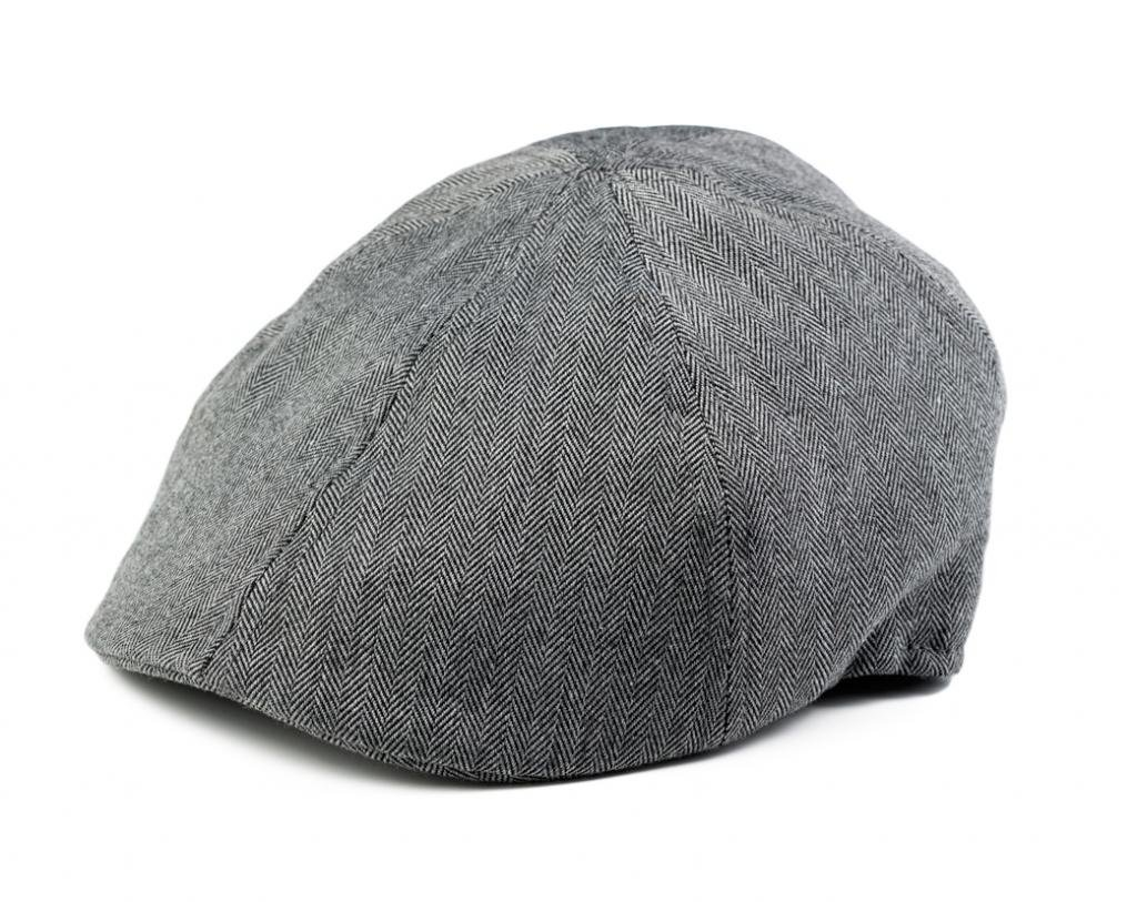 Born to Love Boy's Grey Herringbone Ivy Page Boy Ring Bearer Cap Xs 6 to 12 Months 48 cm by Born to Love