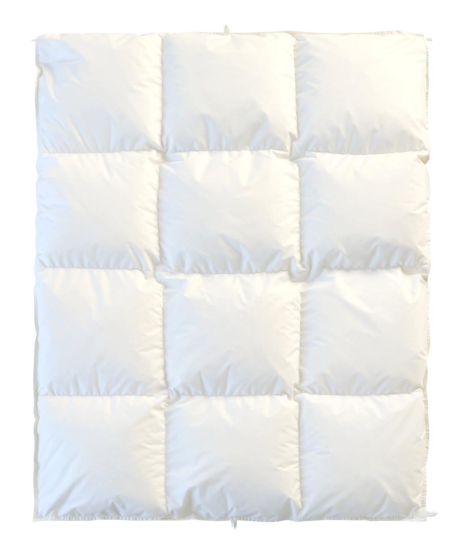 6歳までの寝具図鑑こどものふとん ベビー羽毛掛けふとん(プレミアムゴールド)白   B076LZS8L2