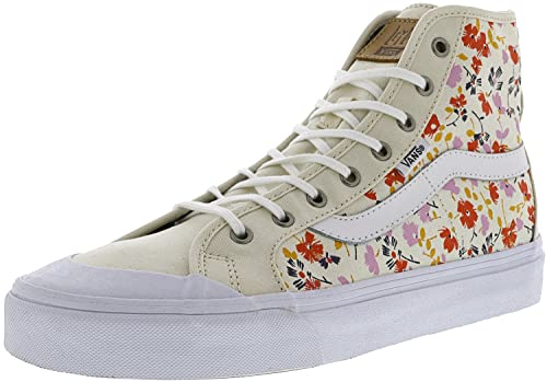 421c6162dc Vans Women s Black Ball Hi Sf Leila Hurst 70S Floral Ankle-High Canvas  Fashion Sneaker - 9.5M  Amazon.co.uk  Shoes   Bags