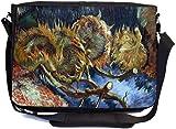 Rikki Knight Van Gogh Art Four Sunflowers gone to