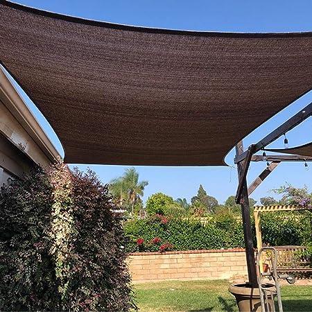 Sombra Solar Malla Patio/Césped/Terraza/Jardín/Pérgola Cubierta De Malla De Malla De Tela 95% Marrón, Fácil Configuración Panel De Privacidad De Protección Solar con Ojales (Size : 1Mx3M): Amazon.es: Hogar