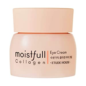 ETUDE HOUSE Moistfull Collagen Eye Cream 28ml - Skin Care Facial Moisturizing Night Eye Cream - Best Anti Aging Eye Cream for Women