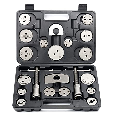 M2 Outlet 22pcs Disc Brake Caliper Piston Pad Car Auto Wind Back Hand Spreader Tool Kit