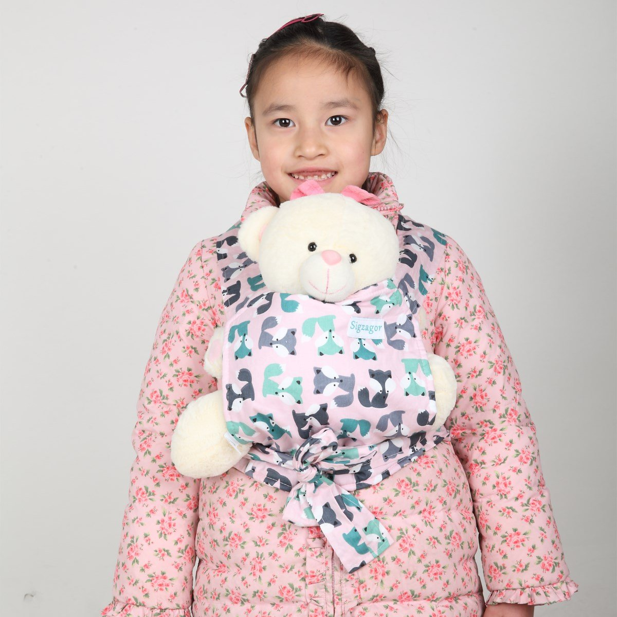 7d671bf2438 Sigzagor Baby Doll Carrier Mei Tai Sling Toy For Kids Children Toddler  Front Back