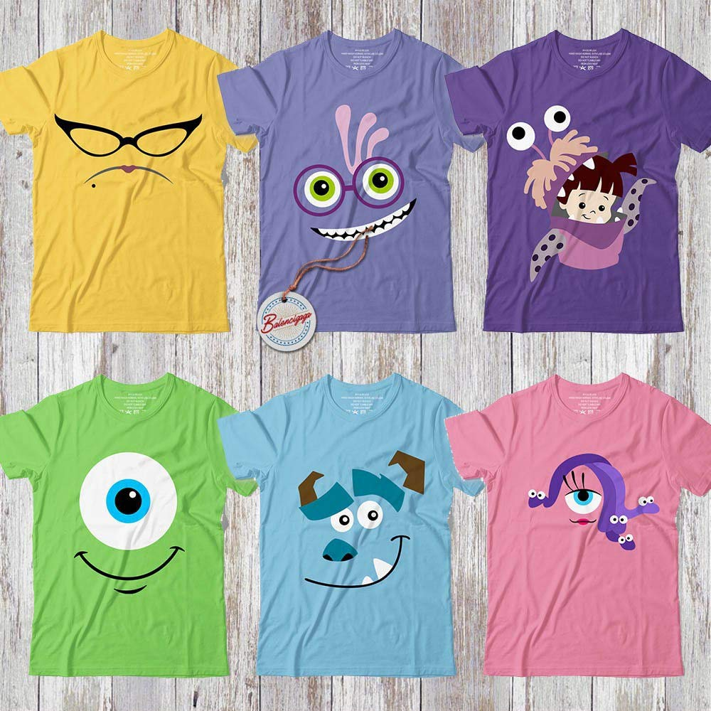 Amazon Com Cute Monsters Uni Boo Mike Sulley Roz Randall