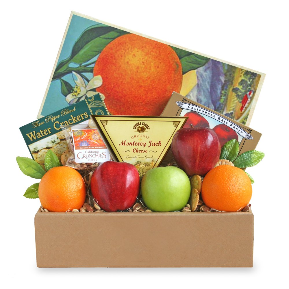 California Delicious Fruit and Cheese Gift Box by California Delicious (Image #1)